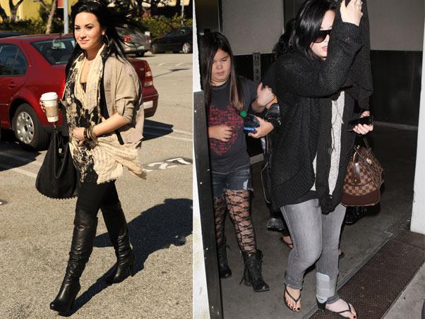 Demi Lovato antes e depois
