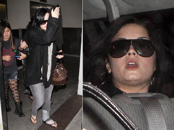 Demi Lovato gorda